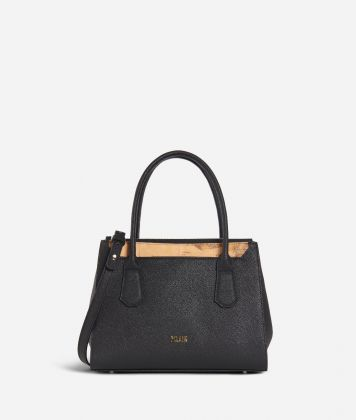 Sky City Small handbag Black and Geo Classic Black