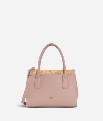 Sky City Small Handbag  Boreal Pink