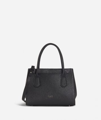 Sky City Small handbag Black and Geo Night Black