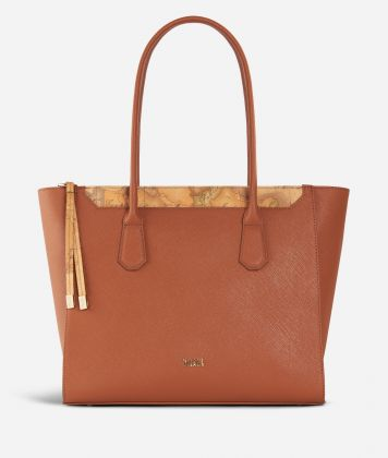 Sky City Shopping Bag Walnut