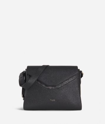 Sky City Hobo bag Black and Geo Night Black