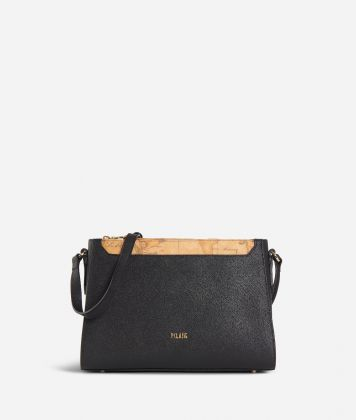 Sky City Crossbody bag Black and Geo Classic Black