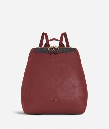 Sky City Backpack Geo Bordeaux Cabernet