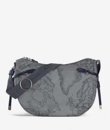 Soft Wood Crossbody bag Dark Grey