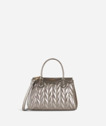 Moonlight Small Handbag Steel