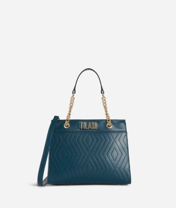 Starlight Line Small Handbag Teal