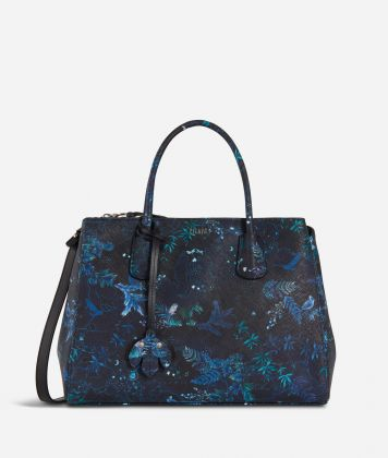Magic Forest Medium Handbag Blueberry