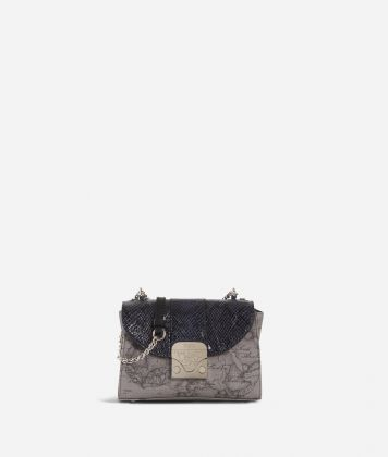 Dream Bag Geo Dark Small Crossbody Bag Black