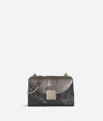 Dream Bag Geo Night Crossbody Bag Black
