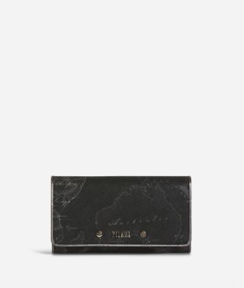 Geo Silver Night Wallet Black