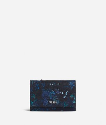 Magic Forest Bifolder Wallet Blueberry