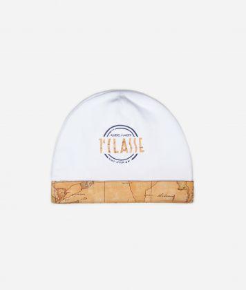 Cappellino con maxi logo e dettagli Geo Classic