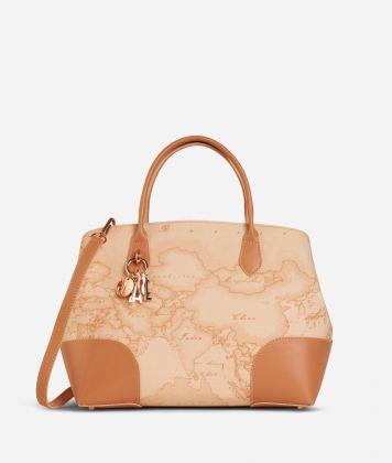 Geo Pesca Handbag Orange