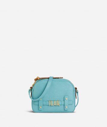 Voyage Smile Crossbody Bag Light Blue