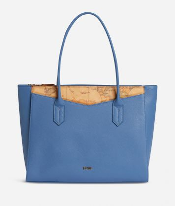 Art City Borsa Shopping grande Blu