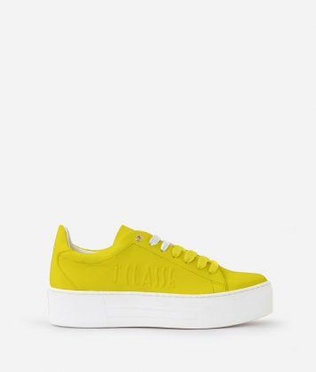 Summer Pop Sneakers Gialle