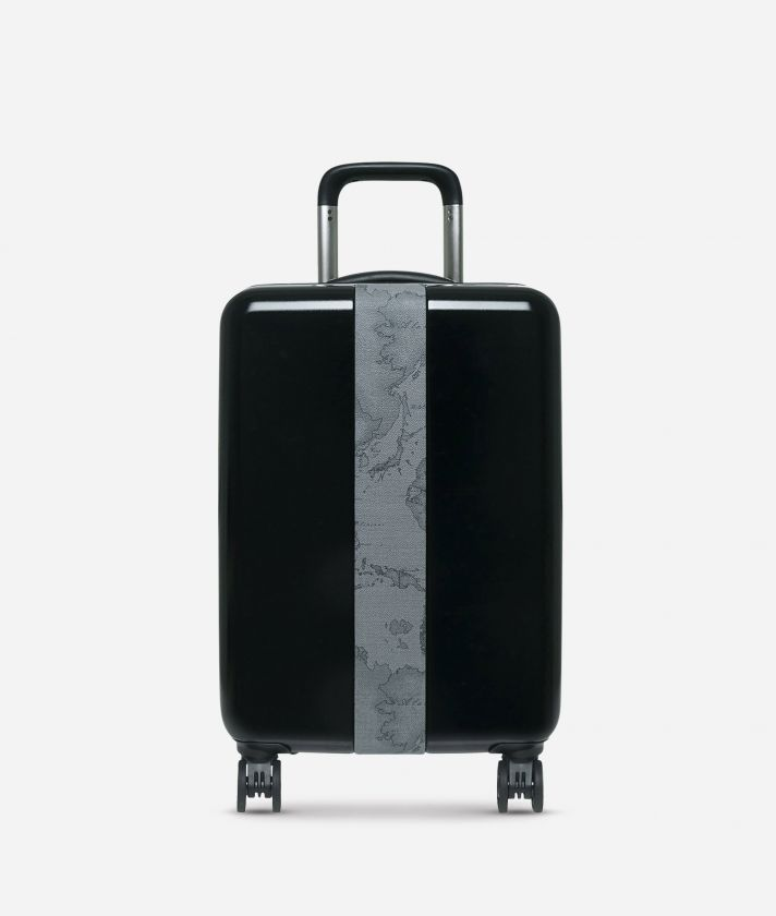 Solid Case Trolley  piccolo con Geo Dark