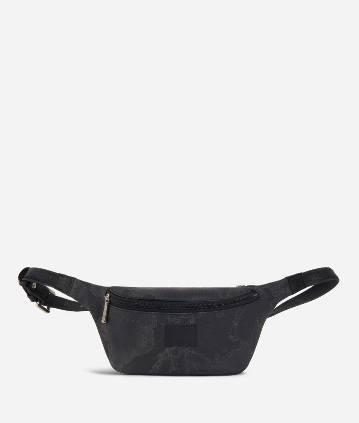 Geo Black Belt Bag
