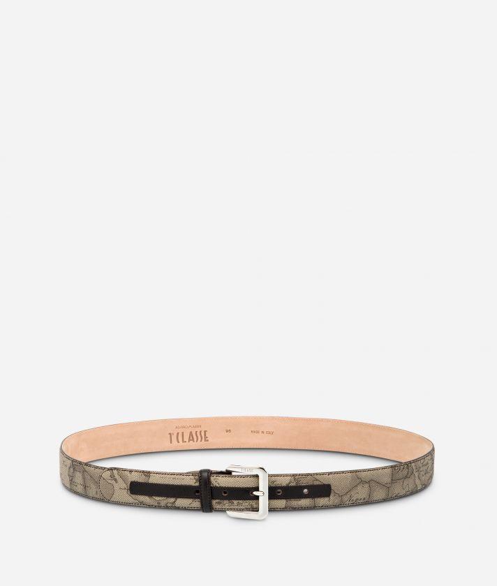Geo Tortora Cintura con fibbia metallica