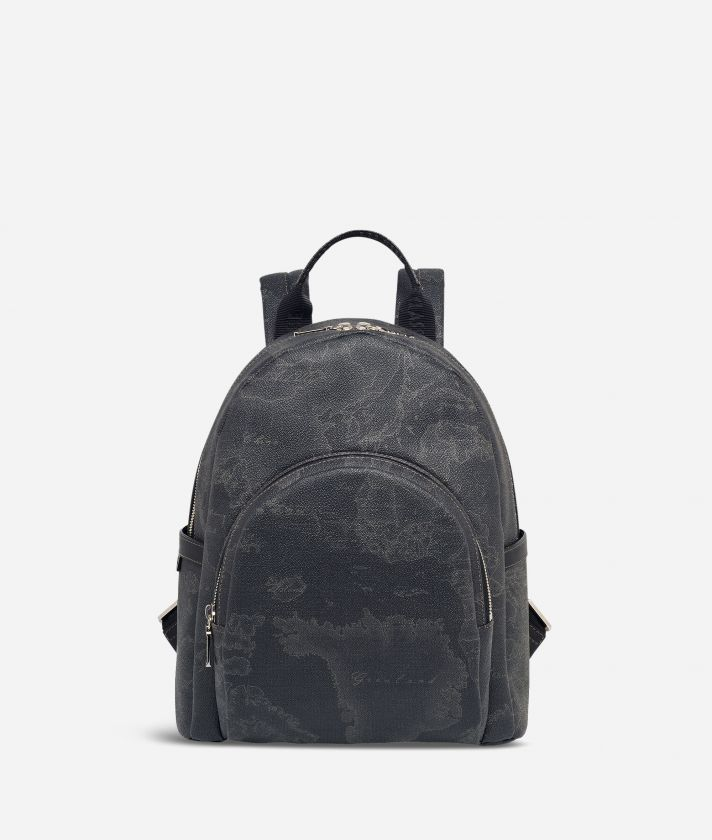 Geo Black Small backpack