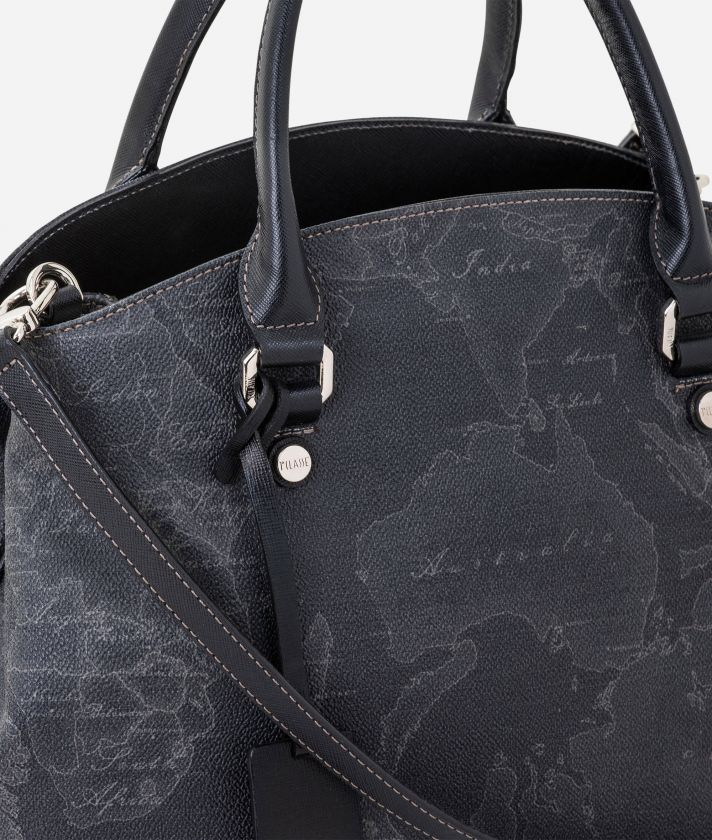 Geo Black Borsa media con tracolla