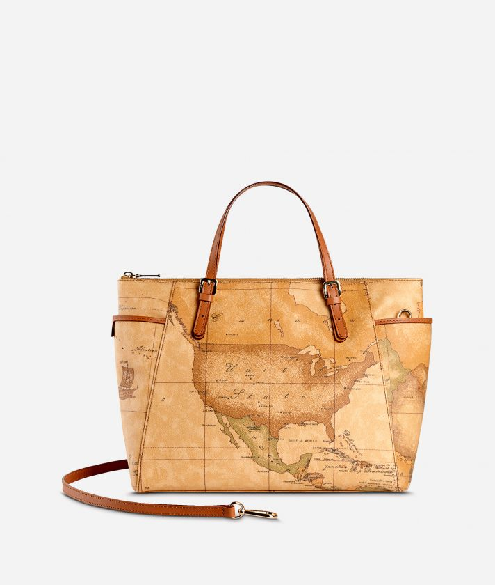 Geo Classic Handbag with strap