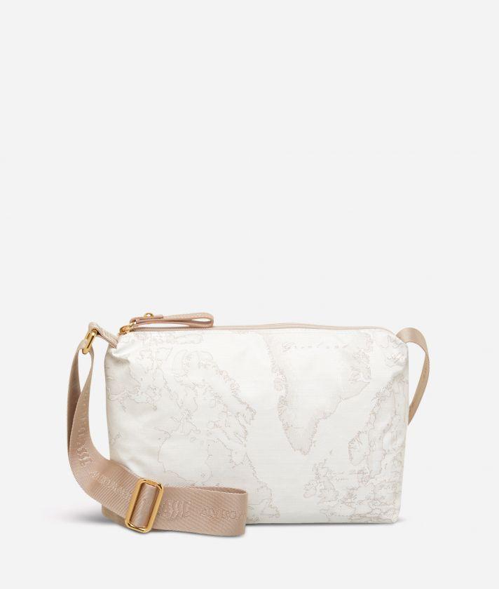 Geo Soft White Small crossbody bag
