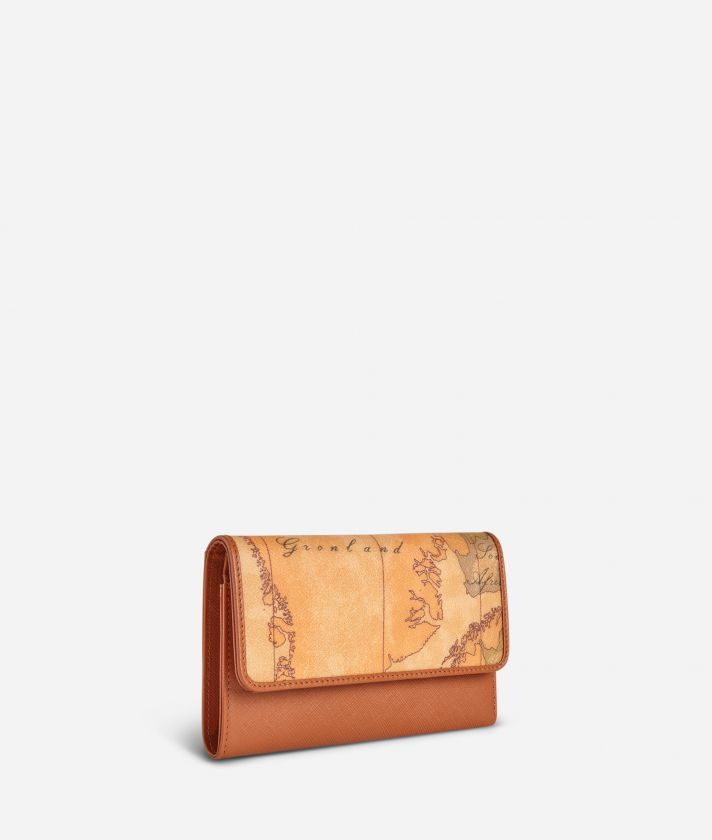 Geo Classic Small wallet with button