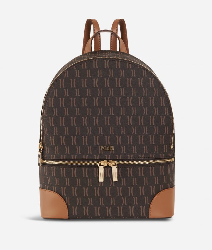 Monogram Big Backpack Dark Buff