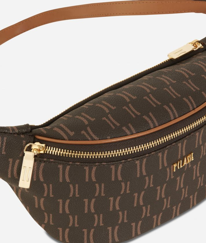 Monogram Belt Bag Dark Buff