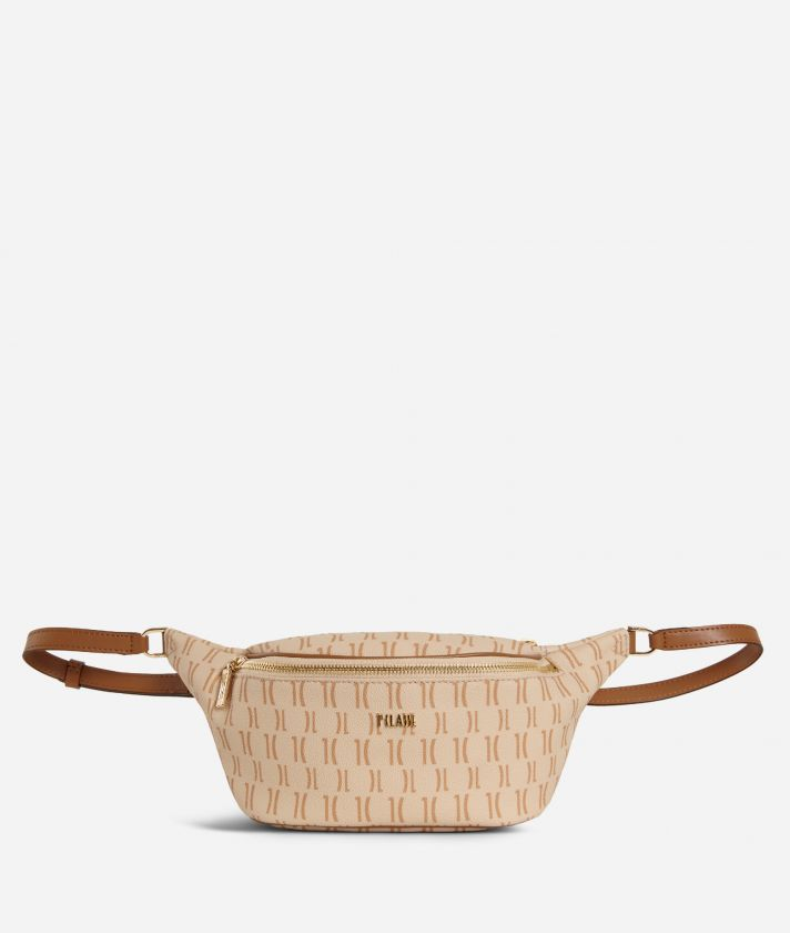 Monogram Belt Bag Beige