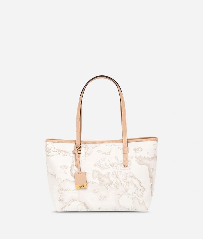 Geo White Borsa shopping media