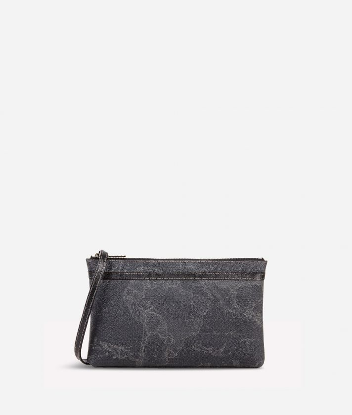 Geo Black Medium crossbody bag