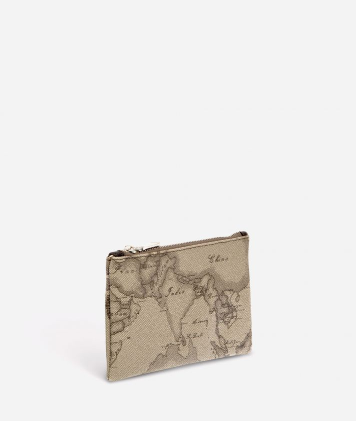 Geo Tortora Medium rectangular pouch