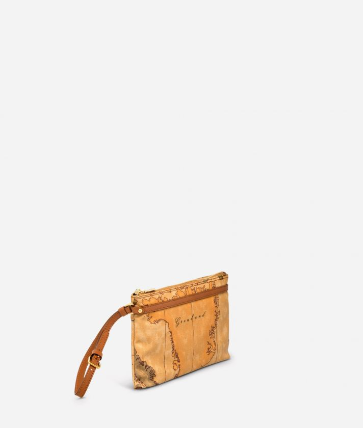 Geo Classic Medium wristlet clutch