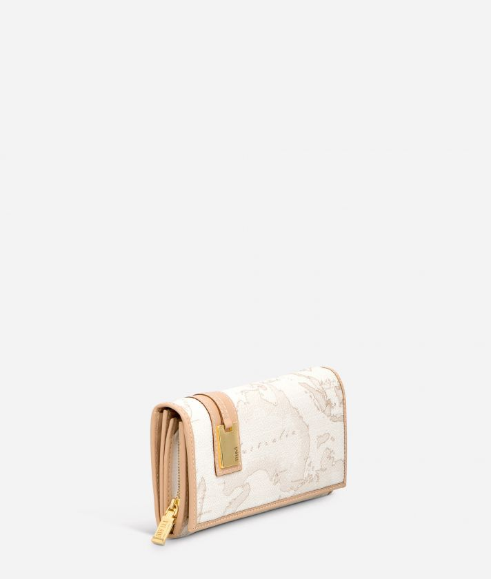 Geo White Large wallet