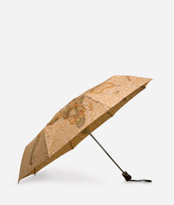 Open/close umbrella in printed Geo Classic fabric