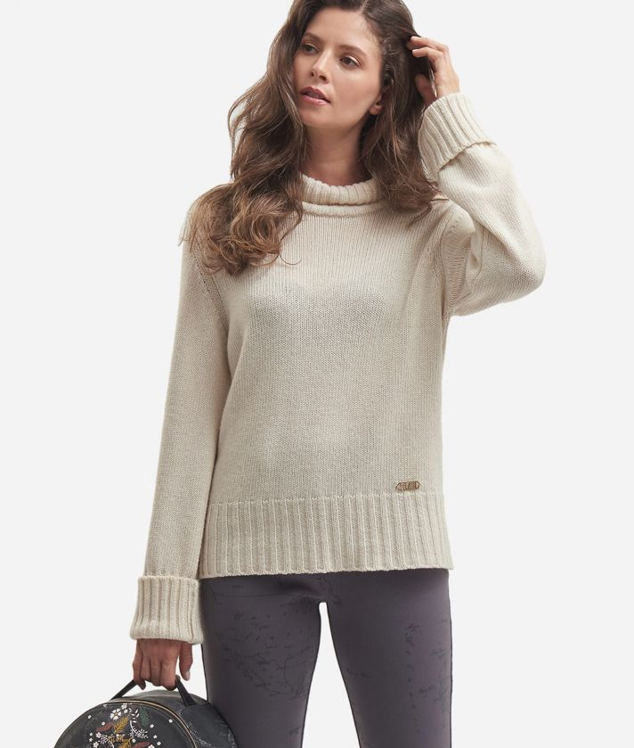 Cachemire blend turtleneck White