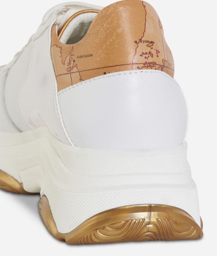 Sneakers fondo running Bianco