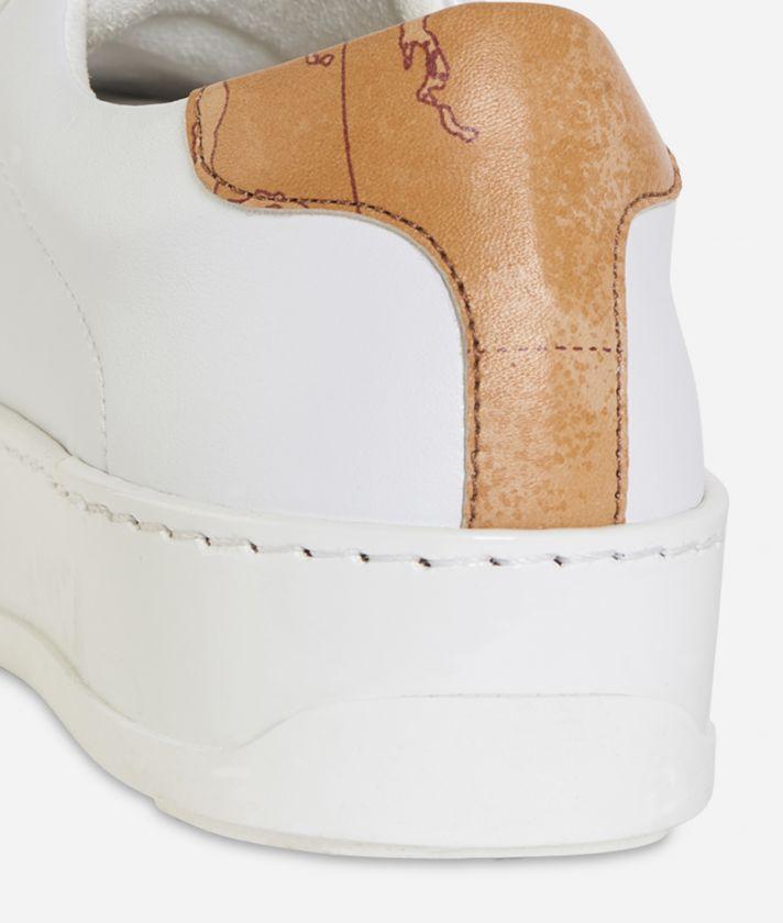 Sneakers fondo cassetta Bianco