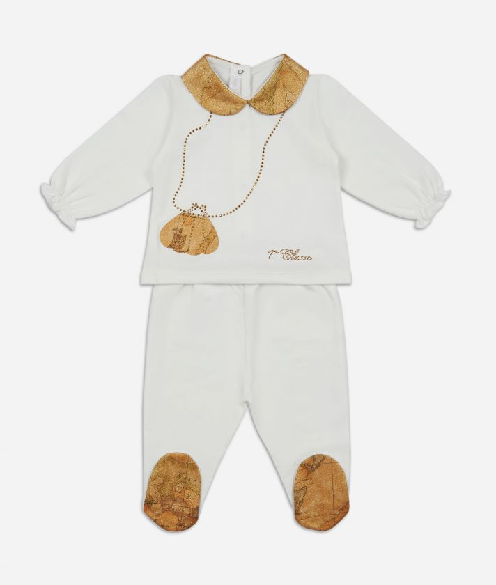 Baby clothing set Geo shiny