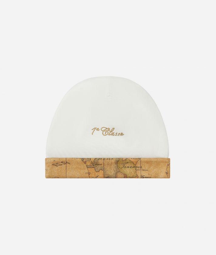Cappellino neonato Geo Classic effetto shiny