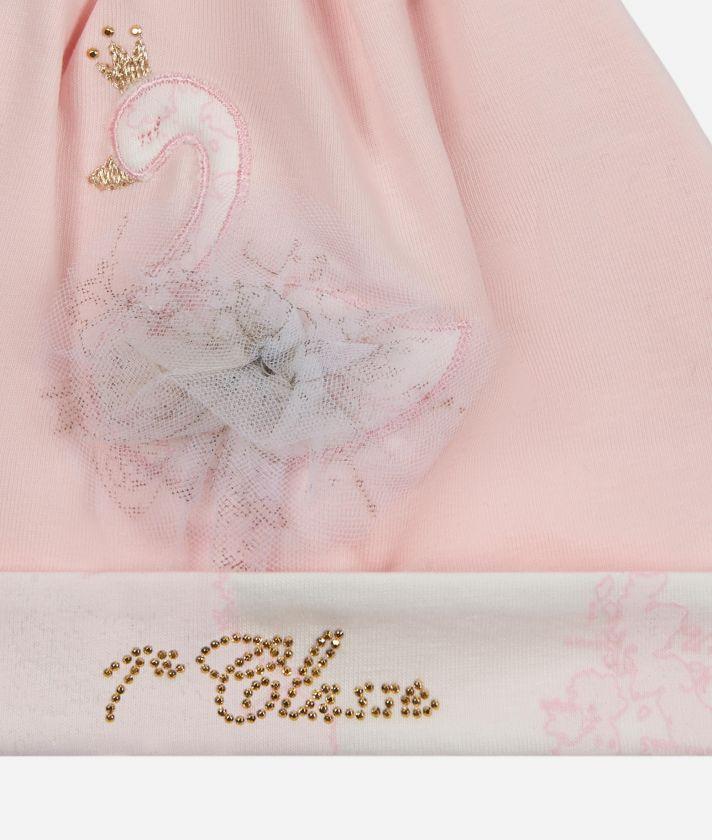 Newborn baby hat Swan