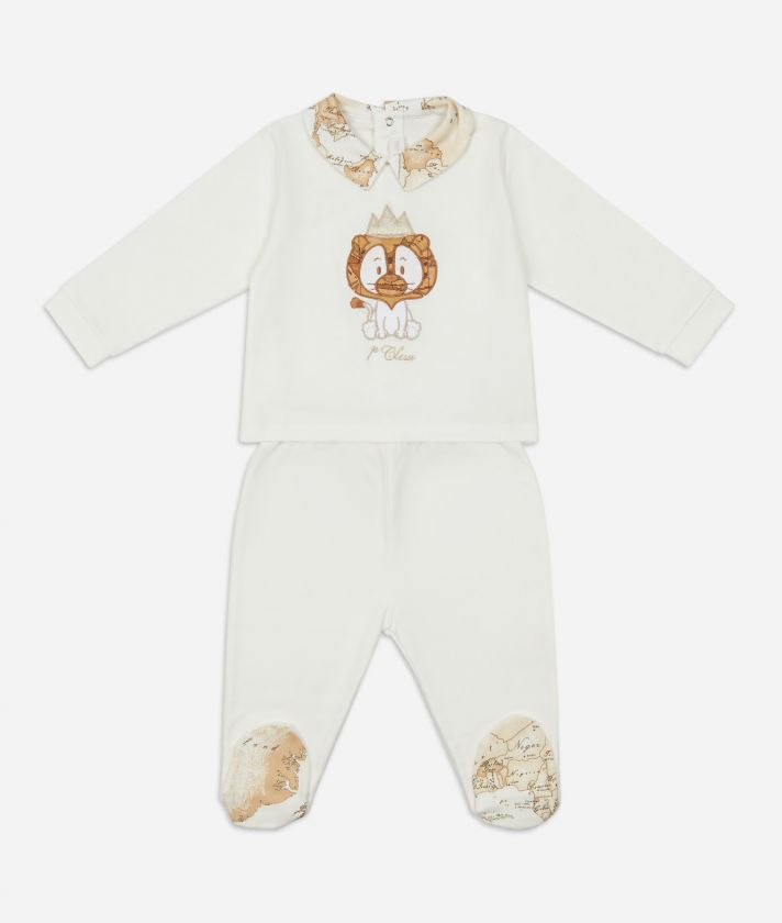 Baby clothing set Baby lion