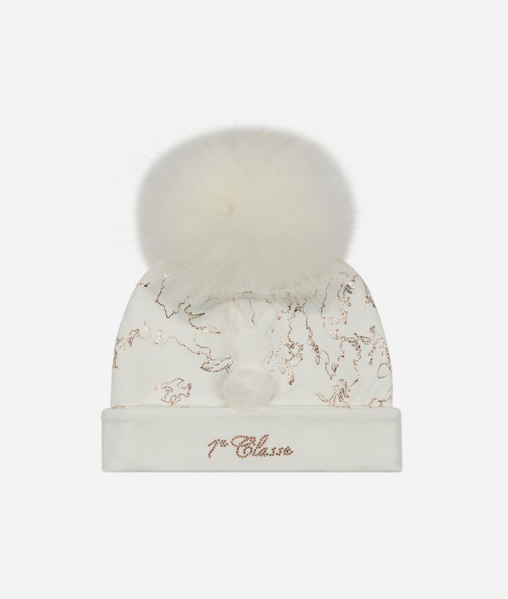 Cappellino neonato Coniglietto