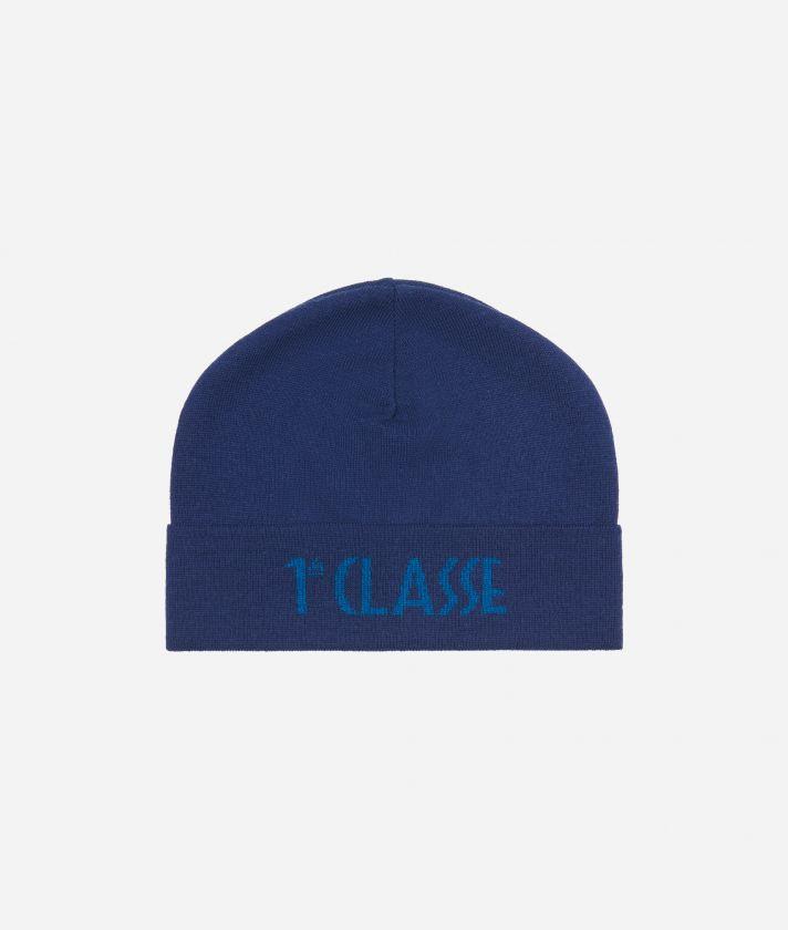 Cappello con Logo Blu