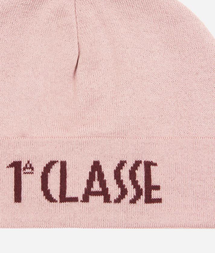 Cappello con Logo Rosa
