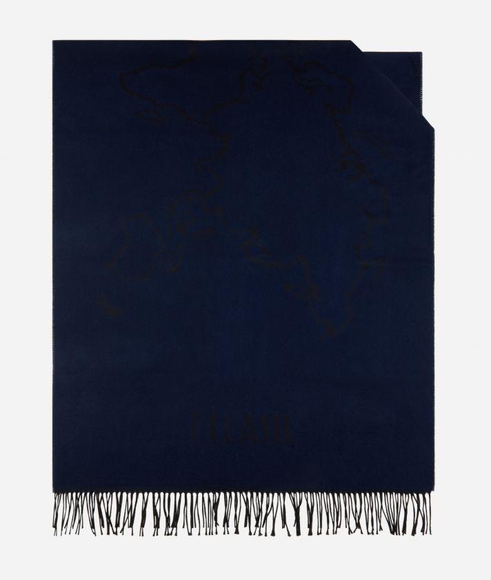 Stola Geo Filetto 75 x 200 Blu