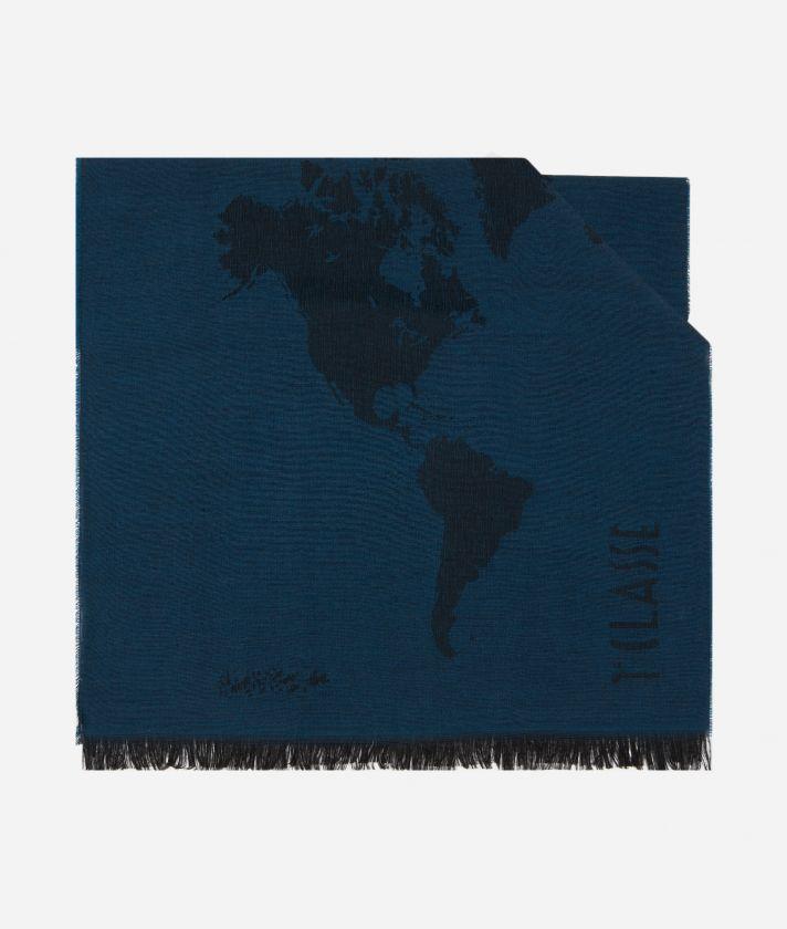 Stola Geo Pieno 85 x 200 Blu