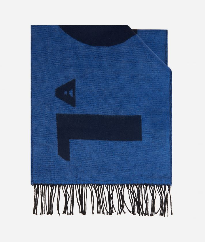 Maxi Logo 1AClasse scar38 x 180 Blue